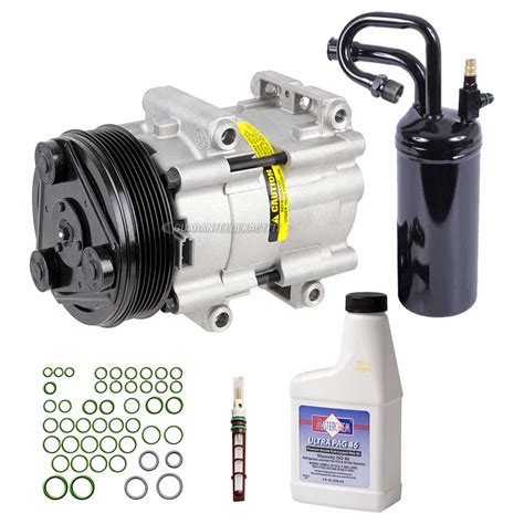A/c Compressor And Components Kit 60-80126 Rk A/c