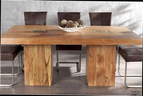 table de cuisine ronde en bois myqto