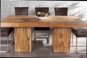 Table A Manger Bois : table de cuisine ronde en bois ~ Preciouscoupons.com Idées de Décoration