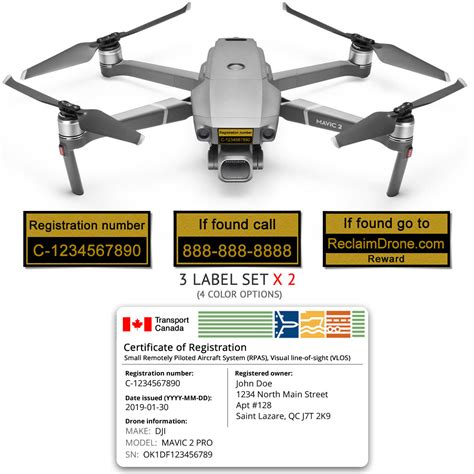 dji mavic  pro zoom bundle registration card