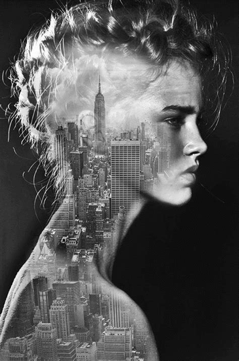 Beautiful Black-And-White Collages That Are Intriguing And