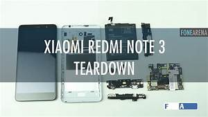 Xiaomi Redmi Note 3 Teardown