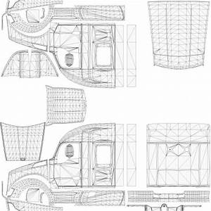Kenworth t680 templates for ats american truck simulator for Ats templates