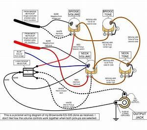 Les Paul Wiring Diagram