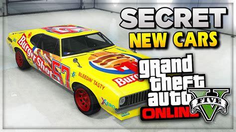 Gta 5 Ps4 Gameplay Images Secret & Rare Cars ! Gta 5