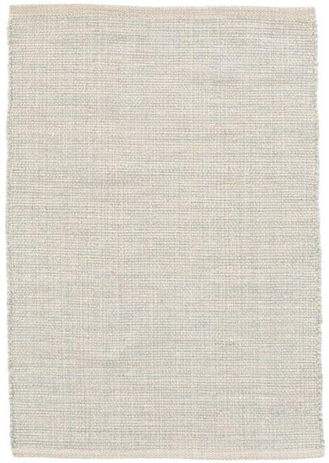 marled light blue woven cotton rug dash albert