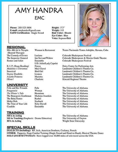 Sle Acting Resumes by Acting Resume Template Is Useful For You Who Are Now