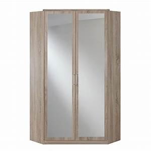eckschrank clack mit spiegel eiche s gerau dekor with badspiegel eiche