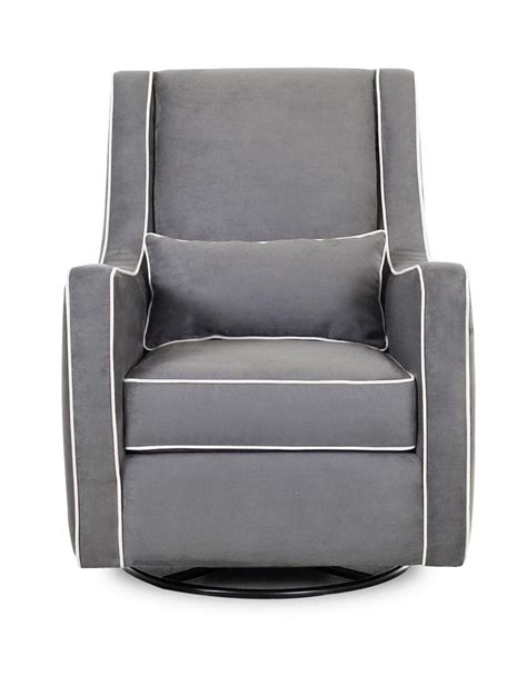 klaussner chairs and accents contemporary swivel