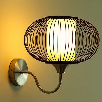 new style wall mounted sconce led interior home lighting shade bamboo l shade bedside