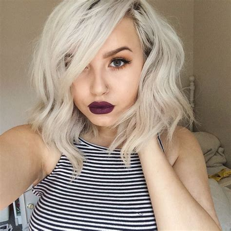 Platinum Hairstyles by Best 25 Platinum Hair Color Ideas On Platinum