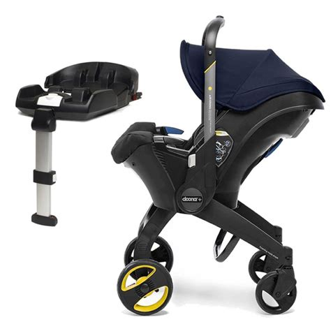 doona infant car seat stroller  isofix base royal blue