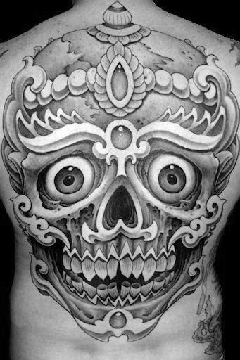 50 Tibetan Skull Tattoo Designs For Men - Kapala Ink Ideas