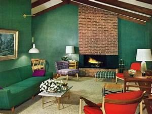 40s Living Room 1950s Living Rooms On Pinterest 1950s