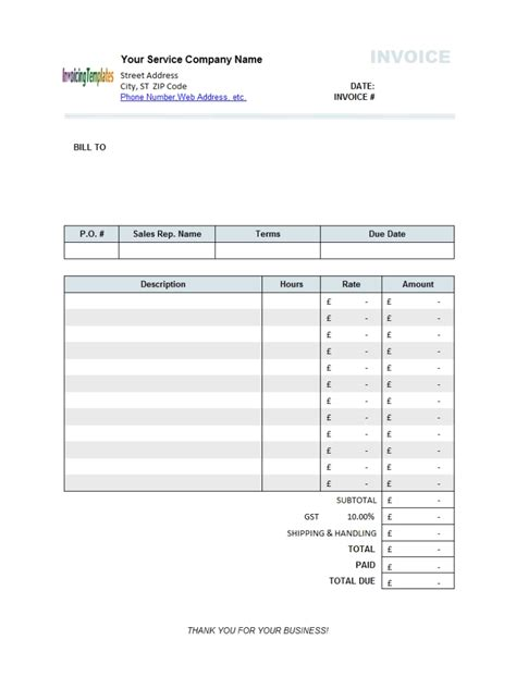 invoice discounting uk invoice template ideas