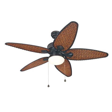 lowes ceiling fans with lights shop harbor breeze 52 in southlake aged bronze outdoor