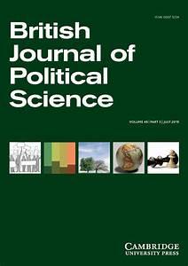 British Journal... Political Science