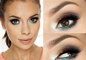 Maquillage Pour Yeux Marron : maquillage yeux marrons 2018 ~ Carolinahurricanesstore.com Idées de Décoration