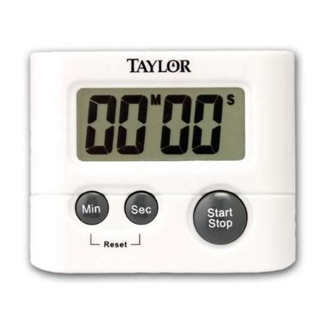 Taylor Precision Products Digital Kitchen Timer New