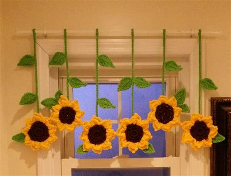 143 best Sunflower curtain images on Pinterest