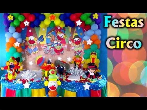 decoracao de festa tema circo palhaco aniversario