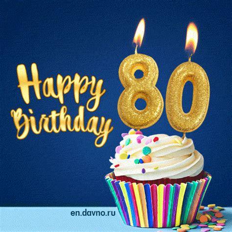 happy birthday  years  animated card