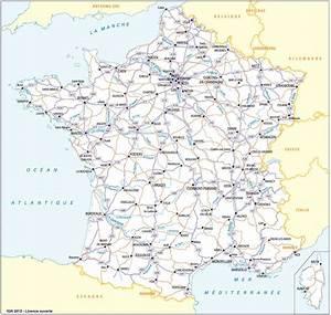 Carte De France Autoroute : carte de france des autoroutes vacances arts guides voyages ~ Medecine-chirurgie-esthetiques.com Avis de Voitures