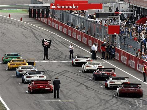 Bimmers, Bmw M1 Racing Cars At The Start Line