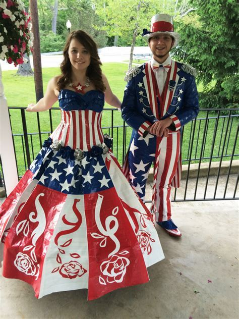 Video: Duct tape prom contest   WISH TV