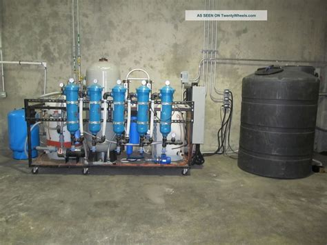 Industrial Water Filtration System Reverse Osmosis De