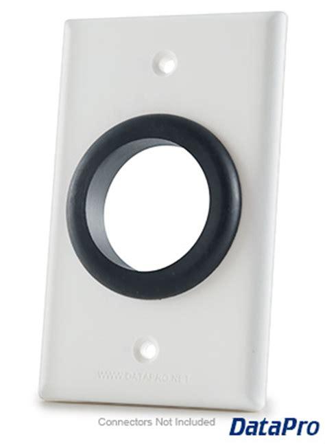 wall plate  grommet hole datapro