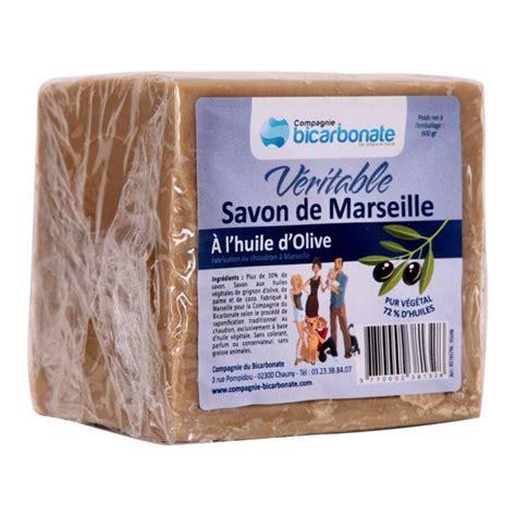Veritable Savon De Marseille Savon De Marseille V 233 Ritable 600g La Compagnie Du Bicarbonate Acheter Sur Greenweez