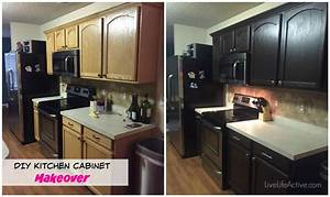 painting kitchen cabinets rustoleum kit before and after pics 2159
