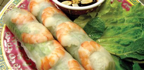 cuisine chinoise nems recette rouleaux de printemps crus par le restaurant