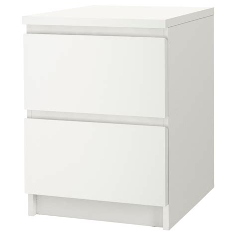 malm 2 drawer chest white malm drawers and ikea malm