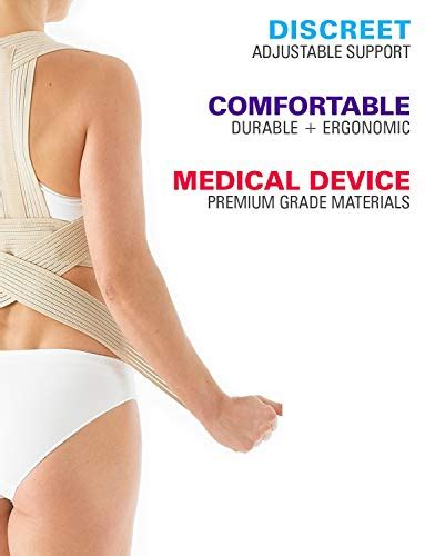 Neo G Clavicle Brace - Back Support for Posture Correction ...