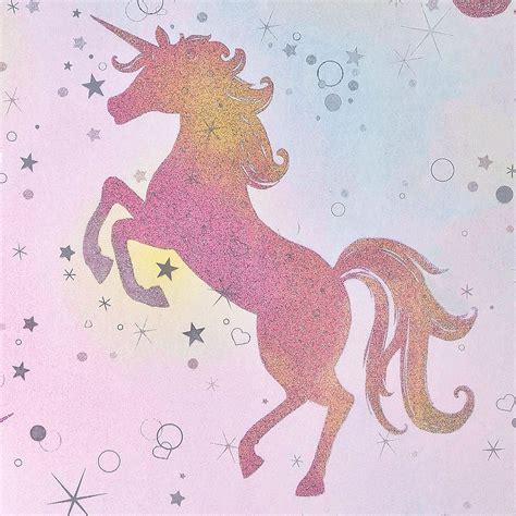 ser deslumbrado dancing unicornio wallpaper arco iris