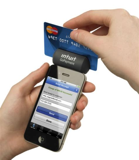 intuit launches  gopayment mobile credit card swiper