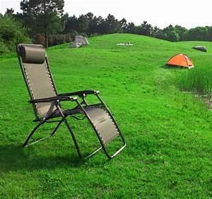 Transat De Plage Pliant : chaise longue bain de soleil chaise de plage camping transat relax inclinable pliant ogs02 ~ Teatrodelosmanantiales.com Idées de Décoration