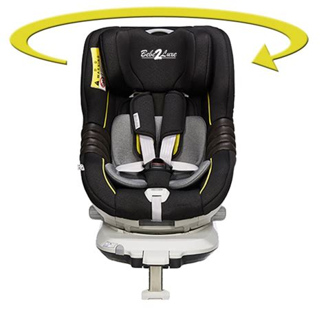 siege auto groupe 0 1 isofix pivotant siège auto pivotant 360 39 the one 39 black gold isofix