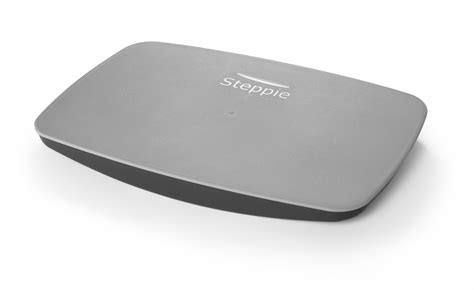 Ergonomic Monitor Stand by Steppie Balance Board Seated