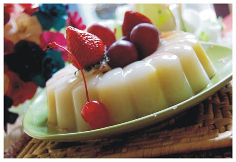 ornamental fruit pudding cheers