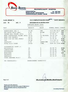 Sepsis  Medical Test Reports