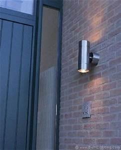 Éclairage Façade Maison : eclairage de facade lampe sport inox teka 100 ~ Melissatoandfro.com Idées de Décoration