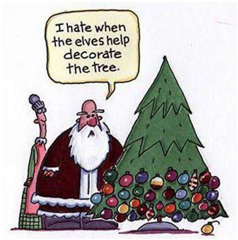 don t let elves decorate the christmas tree