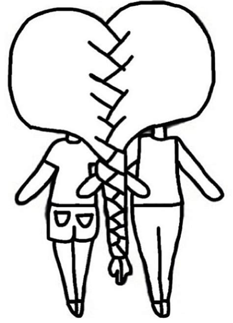 Bff Ketting Kleurplaten by How To Draw Best Friends Forever Easy