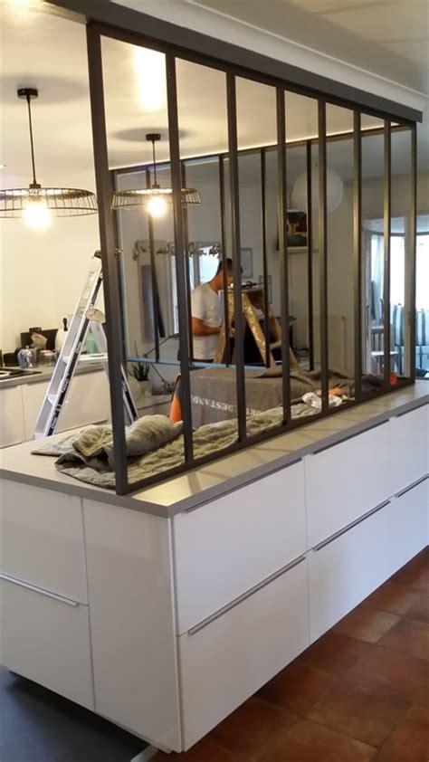Deco Plan De Travail Cuisine - cuisine avec verrière avant après chorizo chantilly