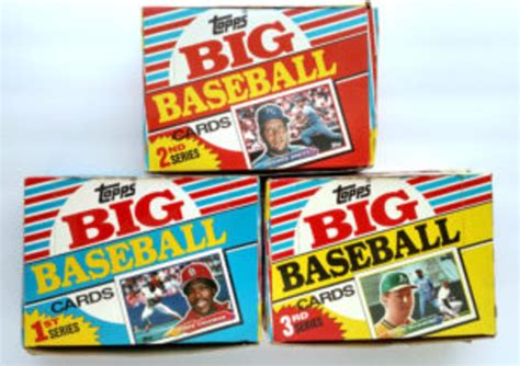 Ballfield dimensions & reference guide. The size of Topps Big Baseball cards played a role in its short life - Sports Collectors Digest
