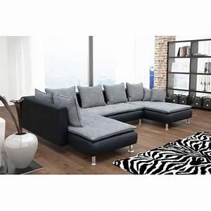 canape panoramique en u dante 7 places deux meridiennes With tapis oriental avec canapé d angle avec large meridienne