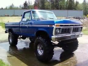 Old Jacked Up Ford Trucks